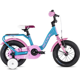 s'cool niXe alloy 12 Kids turquoise/pink